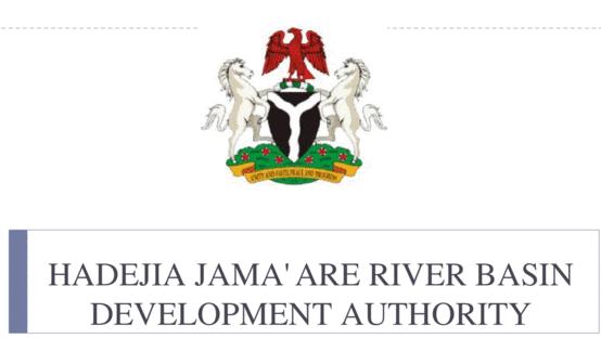 Hadejia Jama'are River Basin Development Authority - Kano