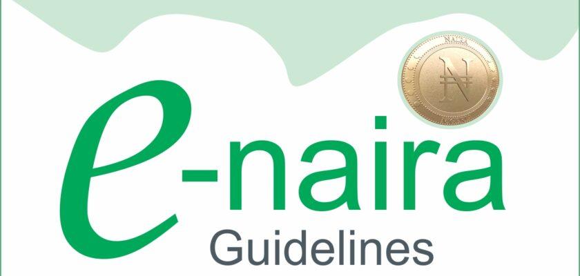 Enaira Guidelines - Cbn Digital Currency E-Naira
